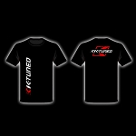 K-Tuned Distressed Vertical Logo T-Shirt